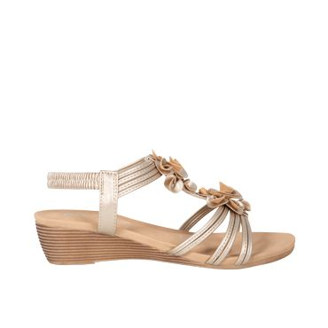3 Colors Fashion Women Summer Casual Wedge Sandals Woven Sandals