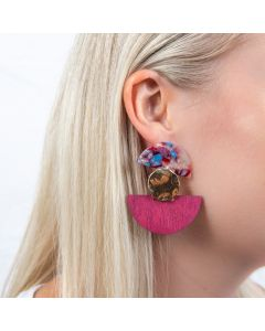 Earrings - Rattan